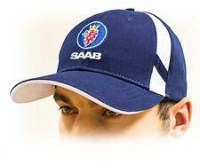 af658805232 SAAB unisex Baseball Cap   Saab Hat. Cotton. Navy blue color. Adjustable  size