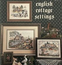 1992 Stoney Creek Counted CrossStitch Pattern Book English Cottage Settings 8768