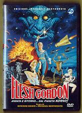 FLESH GORDON (1974) Stormovie edizione integrale restaurata DVD ed. 2010