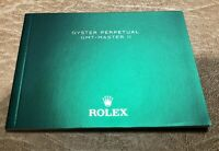 Rolex GMT-Master II English Booklet/Manual Eng ORIGINAL