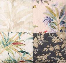 Pottery Barn Bari Floral Patchwork King Quilt & 2 Standard Shams ~ Hawaiian