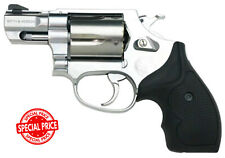 "AIR SOFT GUN S & W M60 2"" Stainless Steel Dedicated Gas Revolver Japan Tracking"