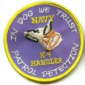 États-unis Marine Ssbn Station Patrol Détection Eod K-9 Handler