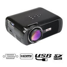 1000LM  FULL HD 1080P Home Cinema Theater LED LCD 3D Projector HDMI 1280x800 EK