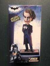 Batman The Dark Knight Joker Headknocker Neca Bobblehead Heath Ledger Nodder 345