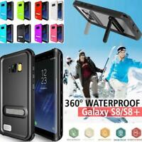 IP68 Snowproof Waterproof Shockproof Stand Case For Samsung Galaxy S8 / S8+ Plus