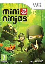 Wii Mini Ninjas - Excellent Condition with book
