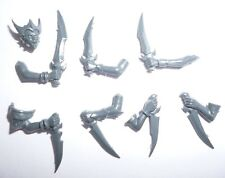 Dark Elves Witch Aelves Head & Assorted Arms – G1431