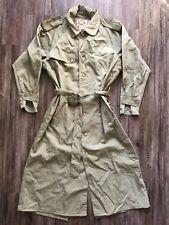 Banana Republic Vintage Safari Jacket Parka Coat Green Men's Small Belted