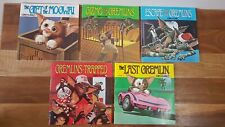 Gremlins Book & Record Series x 5 Collectable Gizmo 1984 45 RPM Records