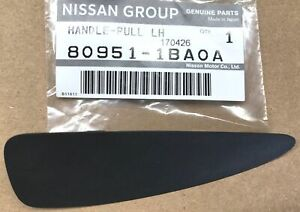 Infiniti NISSAN OEM EX35 Interior-Rear Door-Pull Handle Insert Left 809511BA0A