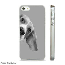 BEAGLE BREED DOG LOVER CUTE CLEAR CASE FOR IPHONE 4S 5 5S 5C 6 6S 7 8 SE X PLUS