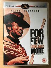 Clint Eastwood FOR A FEW DOLLARS MORE ~ Leone Western | 2-Disc Spec Ed UK DVD