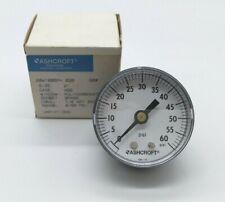 Ashcroft 20W1005PH 02B 0/60 PSI Pressure Gauge