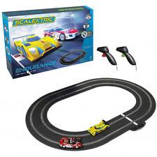 Scalextric C1399 Endurance Set LMP Yellow vs GT Red : 1/32 Slot Car / Track Set