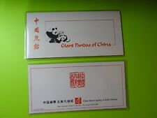 Stamps  (PRC) China * SC 1983-87 * Giant Pandas of China * Stamps & SS * Unused
