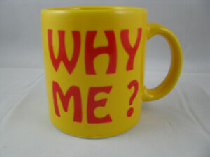 Why Me? Coffee Mug  12oz Waechtersbach Germany New