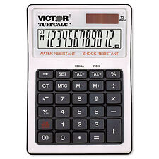 Victor Tuffcalc Desktop Calculator 12-Digit Lcd 99901