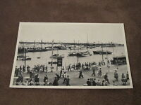 Real Photographic postcard - Harbour scene - Ramsgate - Thanet Kent
