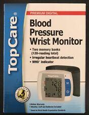 NEW in Box- TopCare Ultra Digital Blood Pressure Wrist Monitor 87-775-001