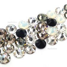 144 Mixed Colors Swarovski 2058/2088 Crystal Flatbacks (Pick your Size & Color)