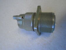 1 EA NOS ITT CANNON ELECTRICAL RECEPTACLE CONNECTOR  P/N: MS3100R20-18S