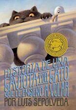 Historia De Una Gaviota y Del Gato Que Le Ensen O A Volar-ExLibrary