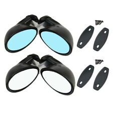 Classic Retro Door Side Mirror Car Matte Rearview Mirror Car Accessories Black