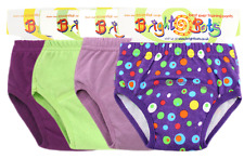 Bright Bots 4x Washable Potty Training Pull Up Pants Small up to 12m- SALE