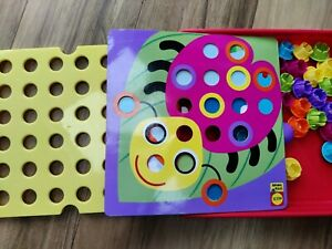 Alex Little Hands Button art set with 10 cards and 43 buttons fine motor skills