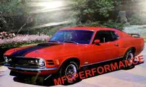 1970 FORD MUSTANG MACH 1 DRAG PACK RED