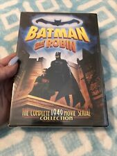 BATMAN AND ROBIN THE COMPLETE 1949 MOVIE SERIAL COLLECTION ROBERT LOWERY SEALED