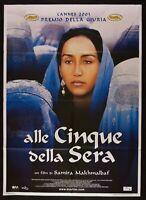 Manifesto Alle la Batalla de los Cinco Ejércitos Noche Samira Makhmalbaf Agheleh