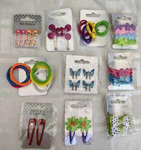 Girls Hair Accessories Bundle 10 x Girl's Accessories Sets Bendies Hairbands