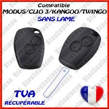 COQUE CLE TÉLÉCOMMANDE COMPATIBLE  RENAULT CLIO 3 MODUS TWINGO 2 MASTER KANGOO