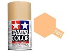 Tamiya TS-77 Flat Flesh Spray Paint Can 3 oz 100ml 85077 Mid-America Naperville