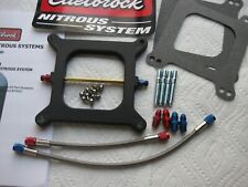 WANT A DEAL? *NEW EDELBROCK PERFORMER HOLLEY NITROUS PLATE KIT 50-65-75-85-100HP