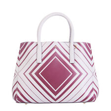 ANYA HINDMARCH Leather Tote Bag Embossed Tie Top Made in Italy RRP €1110