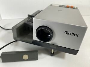 Vintage Rollei Projector P350AF Power Cable & Remote Control Included TESTED