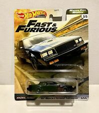 Hot Wheels Premium Fast & Furious '87 Buick Grand National Gnx 2020 3/5 Mcm