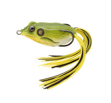 Live Target Frog Hollow Body Fgh45T513 Bright Green Spotted Natural Topwater
