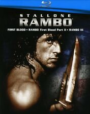 Rambo 1-3 [New Blu-ray] Boxed Set, Dolby, Digital Theater System, Subtitled, W