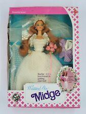 1990 Wedding Day Midge #9606 Barbie Mattel Never Opened