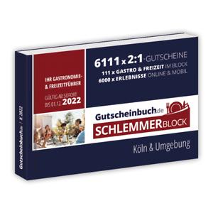 Gutscheinbuch.de Schlemmerblock Köln & Umgebung 2022