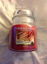 Yankee Candle Sparkling Cinnamon Medium Jar Scented Candle