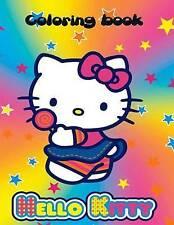 Hello Kitty Coloring Book Hello Kitty Coloring Book an A4 70 Pa by Carney S J