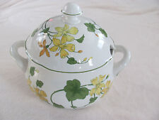 Villeroy & Boch -Geranium-Campagna Shape-Germany-Covered Vegetable Notched Lid
