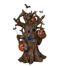 18 in Haunted Haloween Tree 3 LED Color Changing Lights Display Decor Prop Home