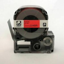 "K-Sun 224BR Black on Red Tape 1"" KSun 24mm"