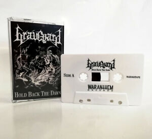 GRAVEYARD - hold back the dawn TAPE Music Cassette